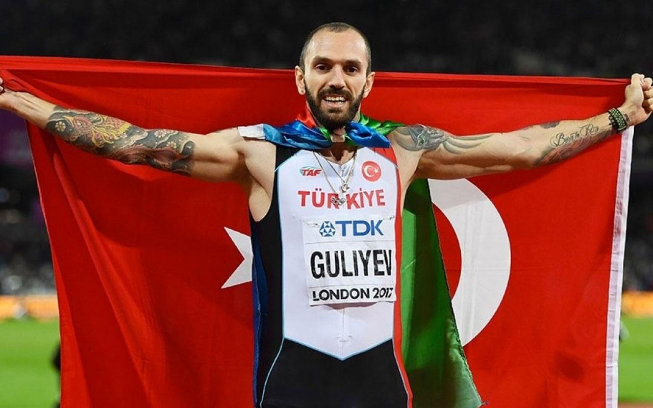 İşte yılın sporcusu Ramil Guliyev