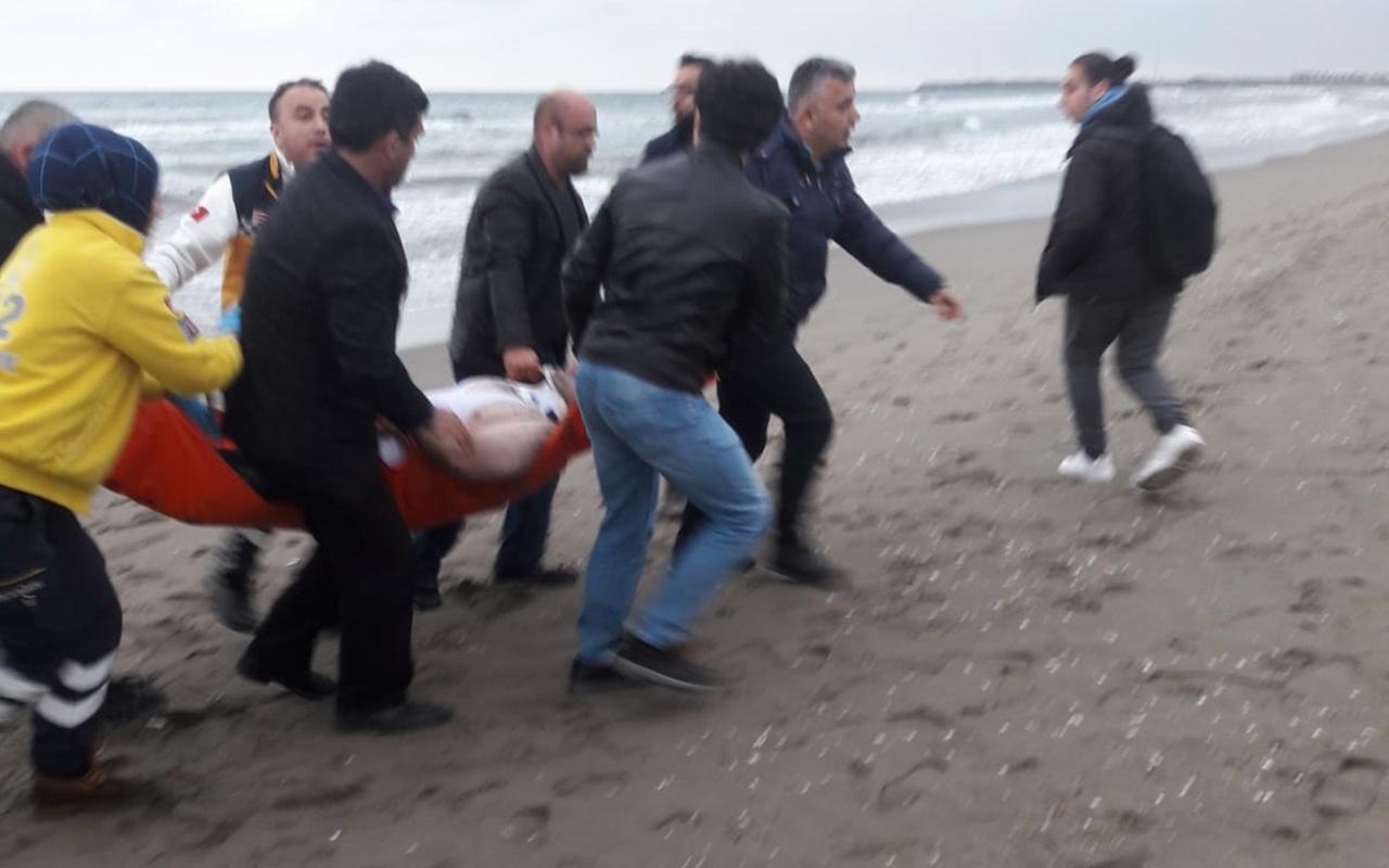 Samsun'da intihara kalkışan ikizini kurtarmak isterken boğuldu