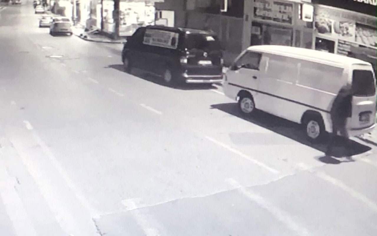 Çekmeköy'deki pompalı tüfek dehşeti kamerada