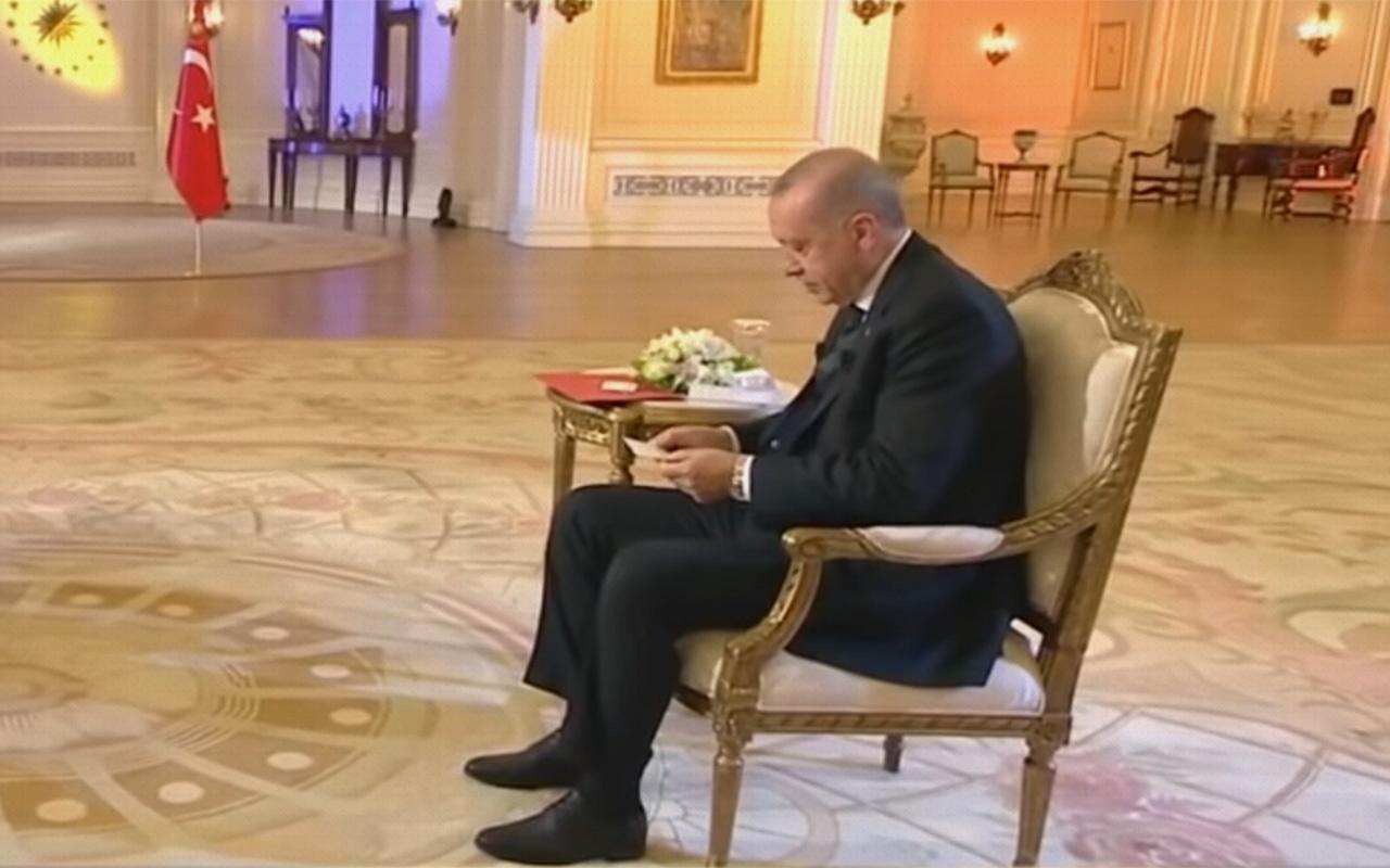 Cumhurbaşkanı Erdoğan'a mektup sürprizi