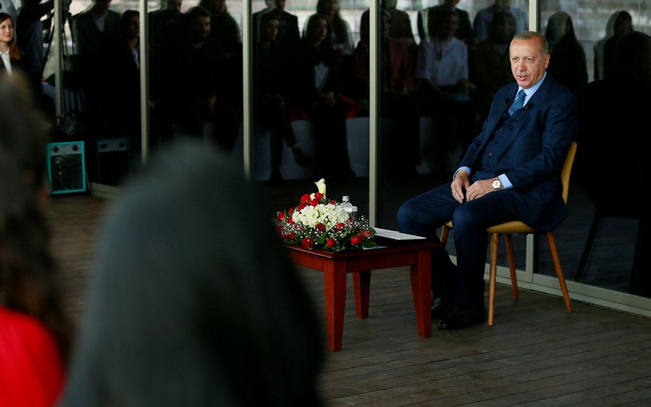 """Erdoğan """"Ankara'ya 55 bin kişilik bir stadyum düşünüyoruz"""""""