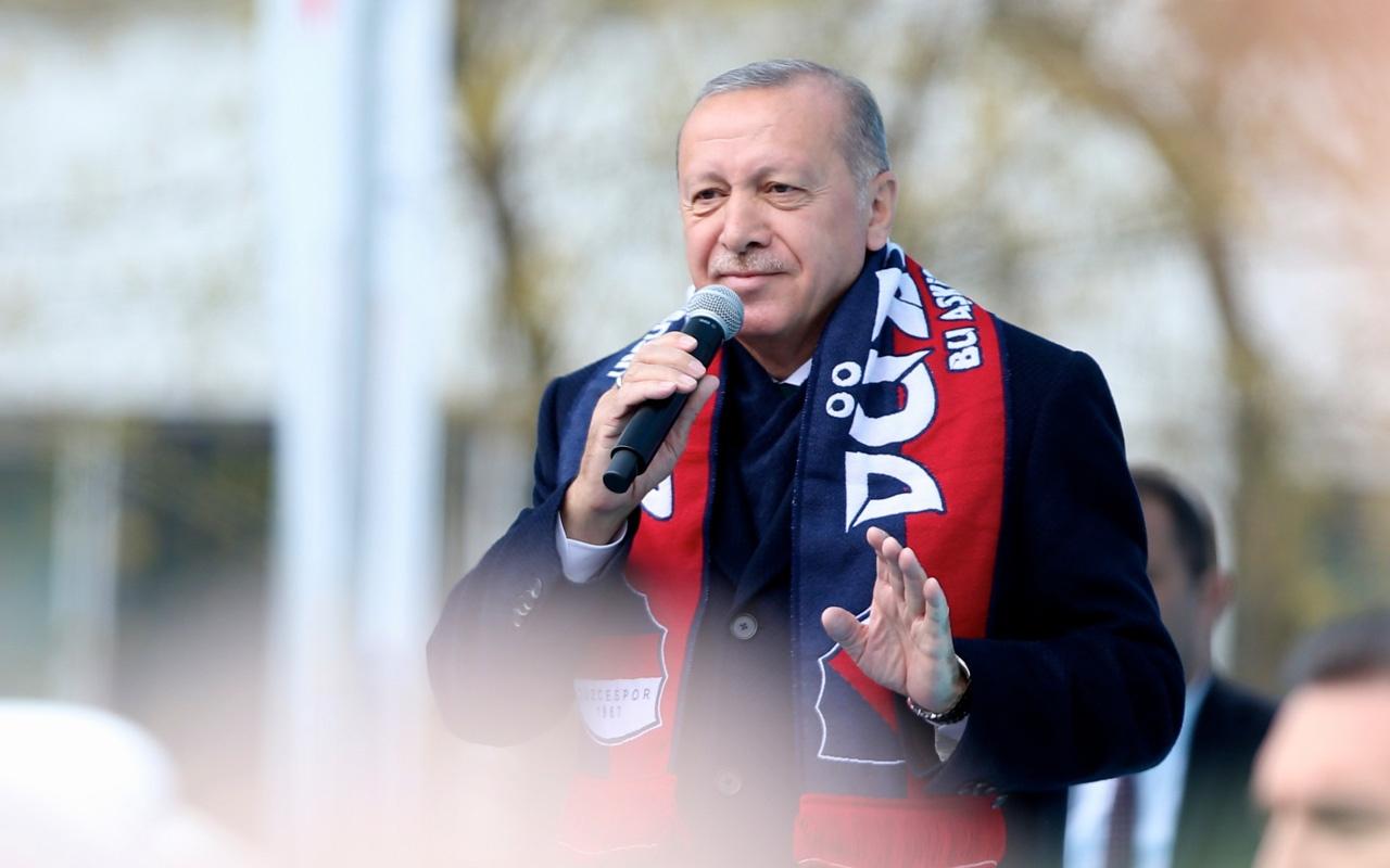Cumhurbaşkanı Erdoğan Düzce mitinginde açıkladı bunları gördüm acıdım