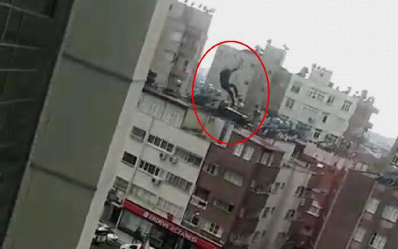 Adana'da hastanede dehşet: Ölüme böyle atladı!