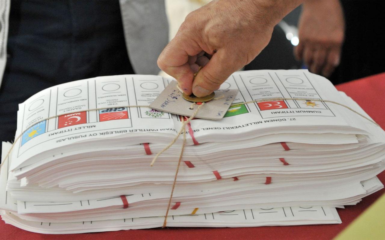 İstanbul seçim anket sonuçları SONAR kim önde gidiyor?