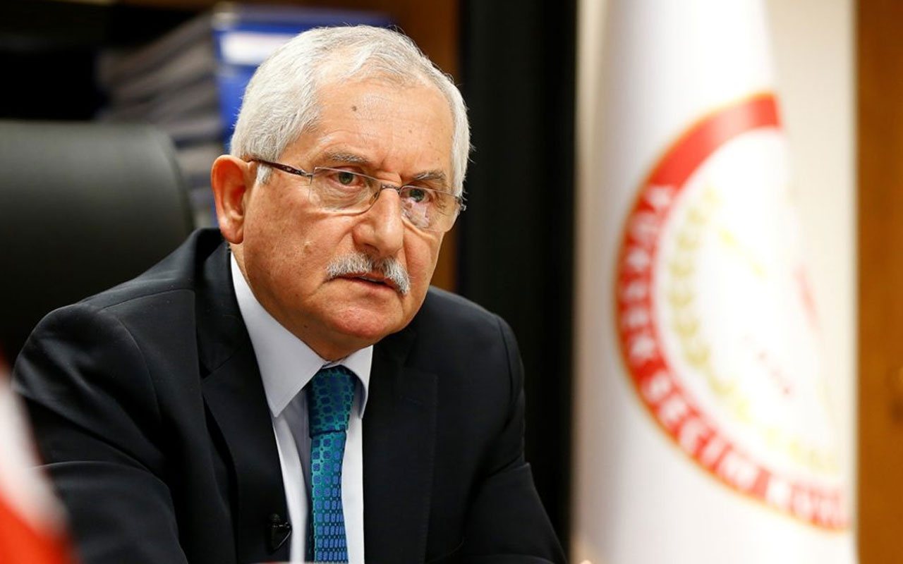 YSK Başkanı Güven'den kritik seçim açıklaması!
