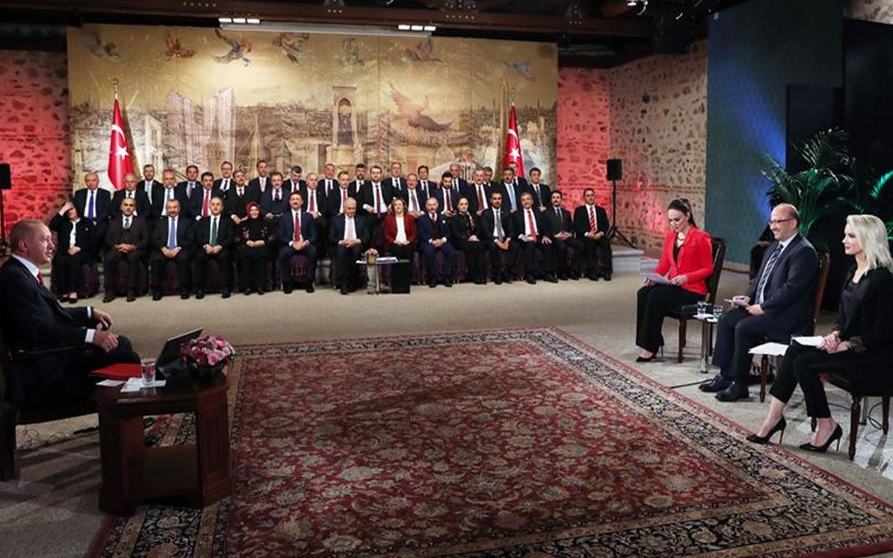 Erdoğan'dan seçmene 'sandığa gel' çağrısı