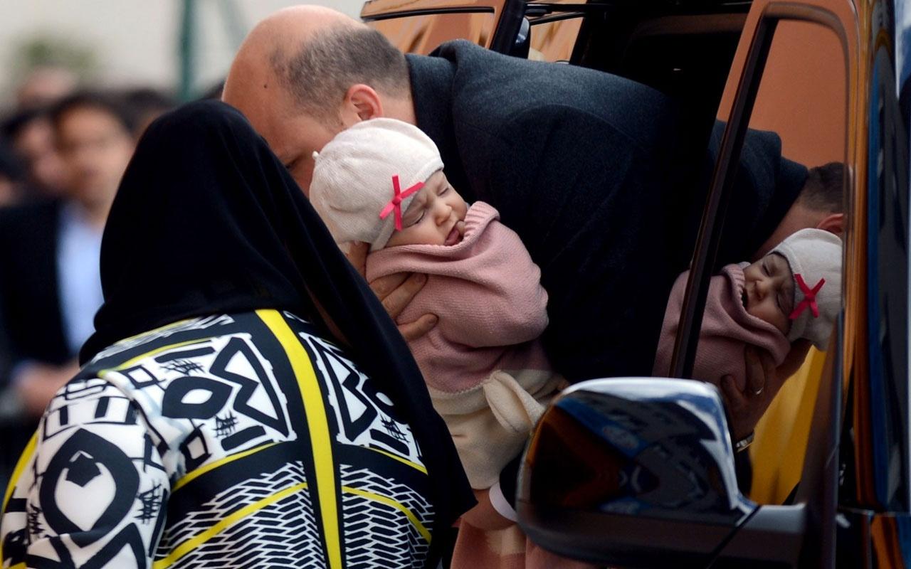 Bilal Erdoğan oy kullanmaya eşi ve çocuğuyla geldi