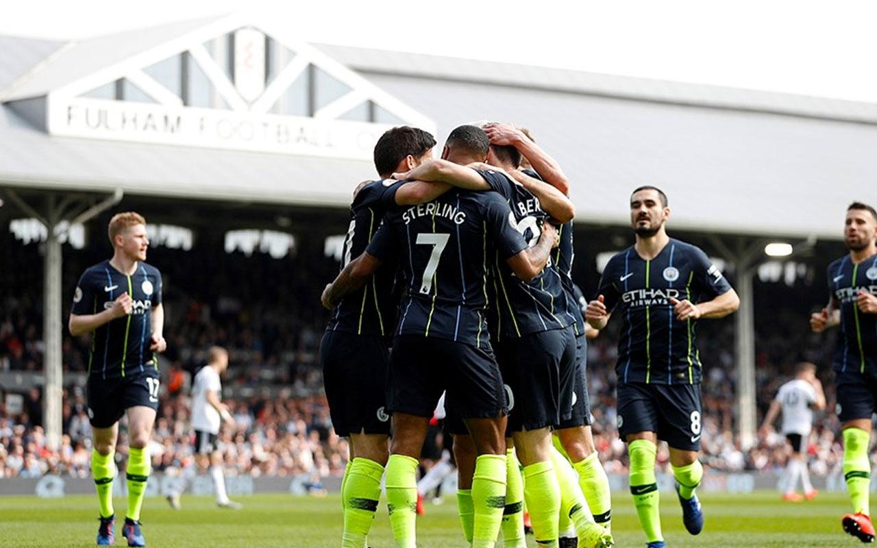 City, Fulham'ı ateşe attı