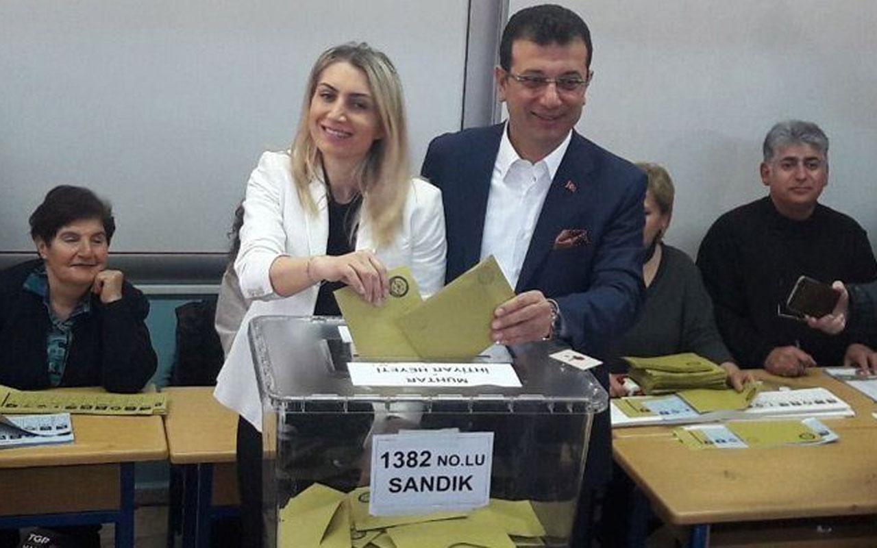 Ekrem İmamoğlu'nun sandığından CHP birinci parti çıktı