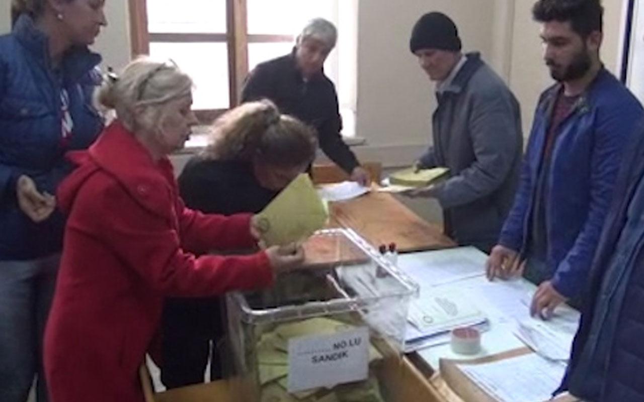 Yurt genelinde oy sayımına başlandı