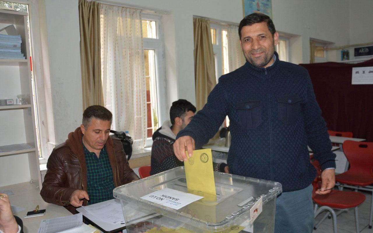 Türkiye vatandaşı olan Suriyeliler ilk kez oy kullandı