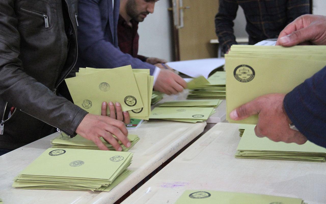 Ankara'da ilçe ilçe seçim sonuçları işte el değiştiren 3 ilçe