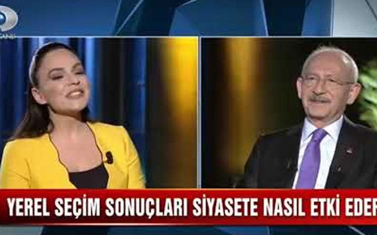 Buket Aydın'ın Kılıçdaroğlu'na gülüşü sosyal medyada gündem oldu
