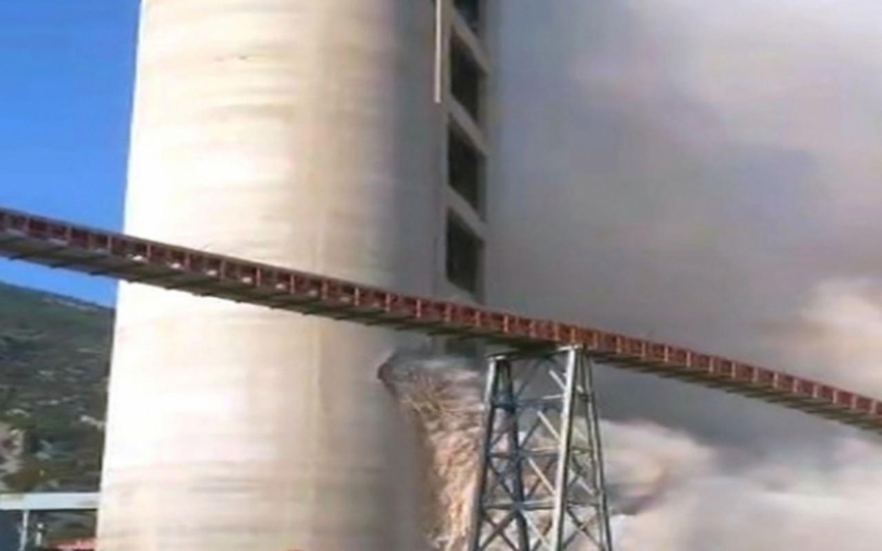 Aydın'da çimento fabrikasında patlama