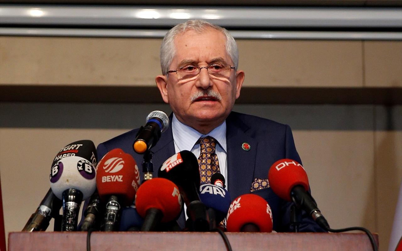 YSK Başkanı Güven'den İstanbul seçimleriyle ilgili usulsüzlük açıklaması