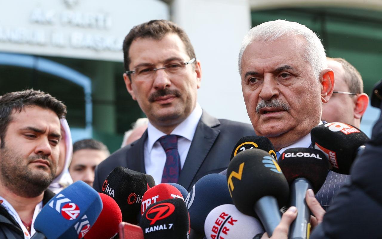 Değişen İstanbul sonuçları için Binali Yıldırım'dan yeni açıklama