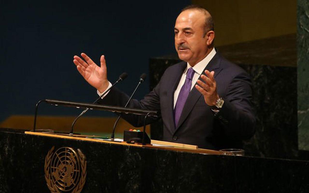 Mevlüt Çavuşoğlu'ndan Birleşmiş Milletler'de dünyaya çağrı!