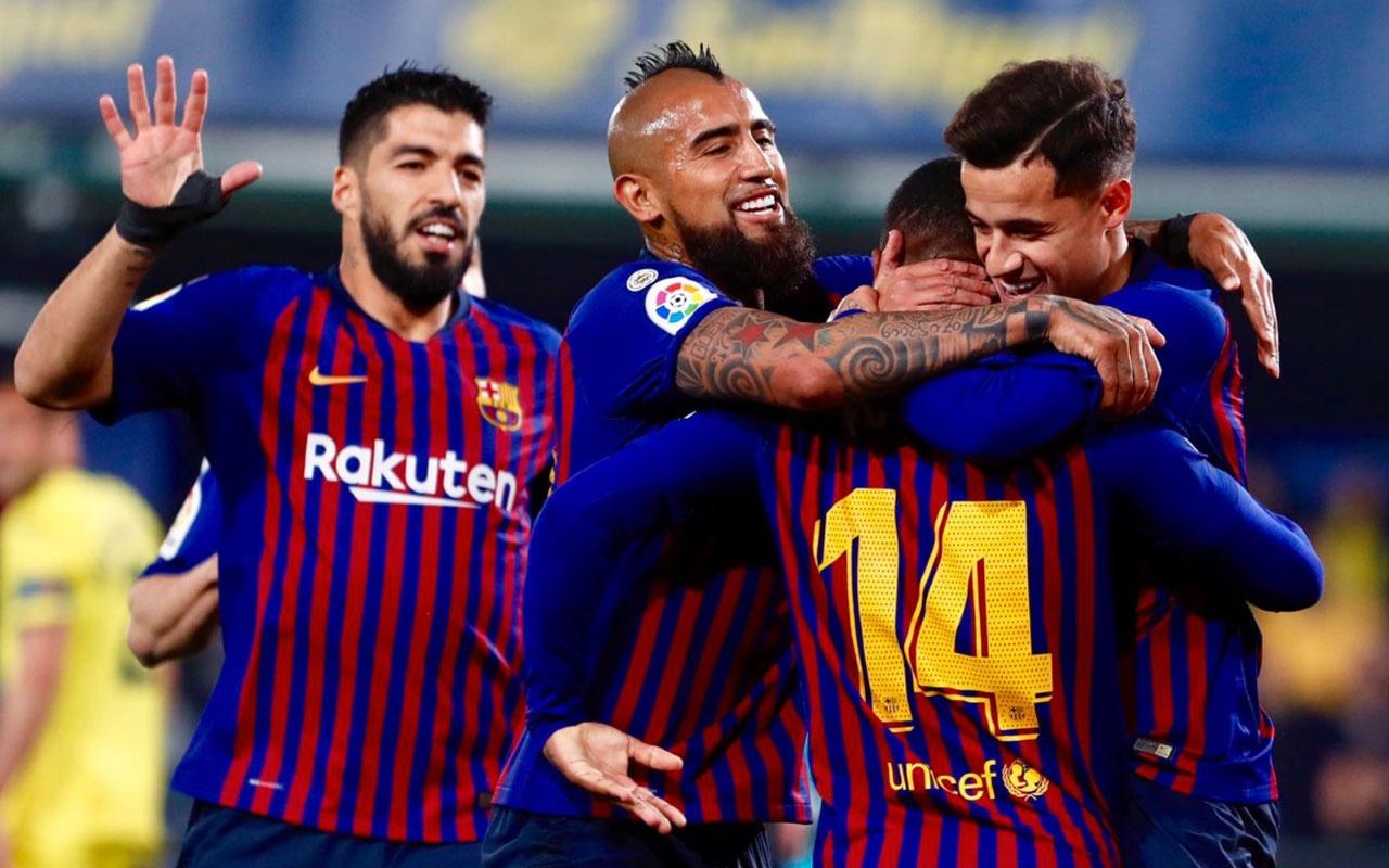 Barcelona'dan Villareal karşısında tarihi geri dönüş