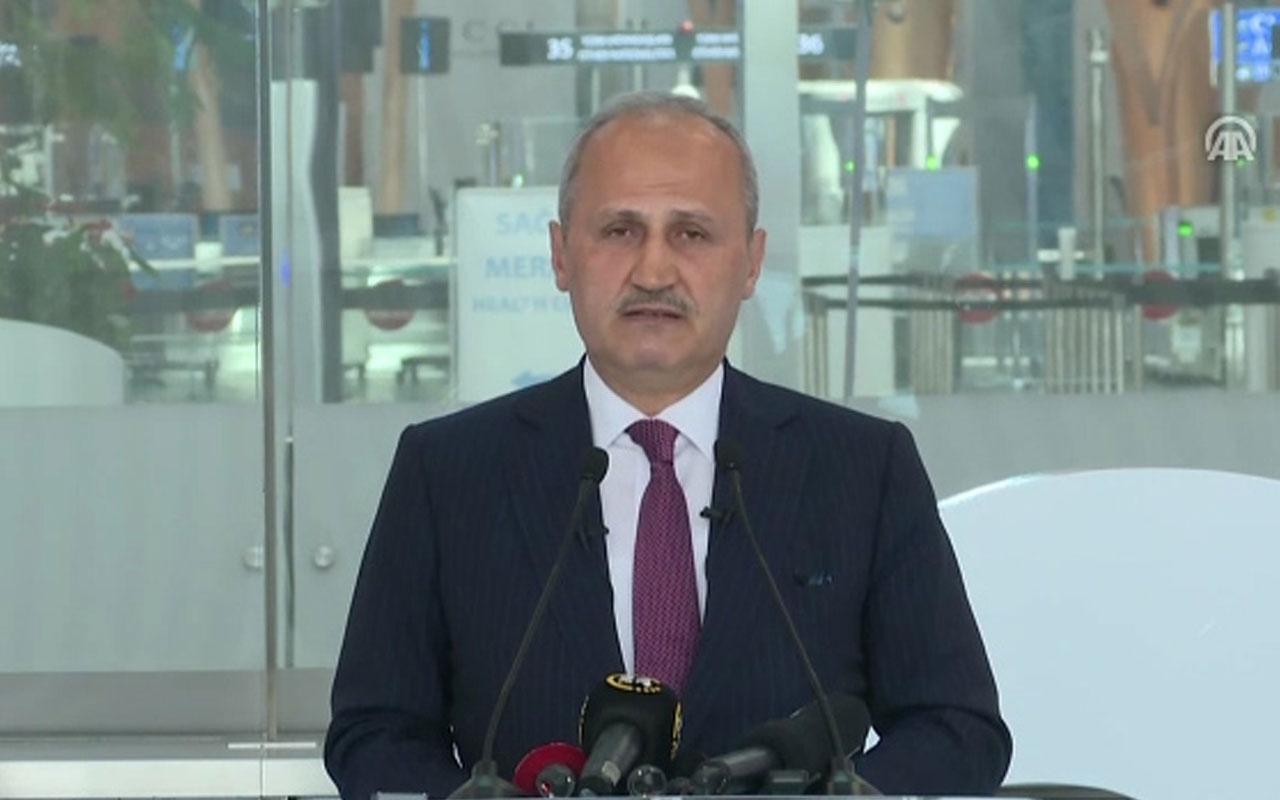 """Turhan: """"Planlanan taşınma süreci 5 Nisan da başlayacak ve 45 saat sürecek"""""""