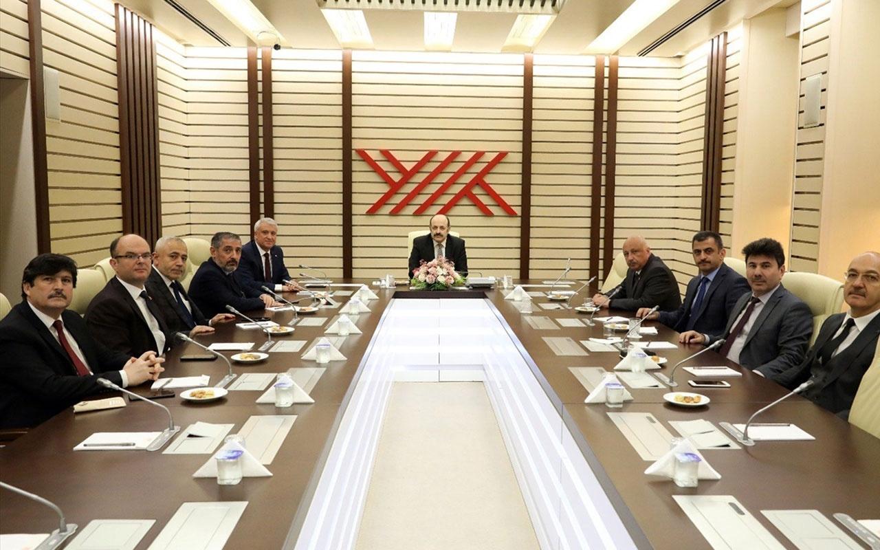 YÖK Başkanı Saraç rektörlerle bir araya geldi