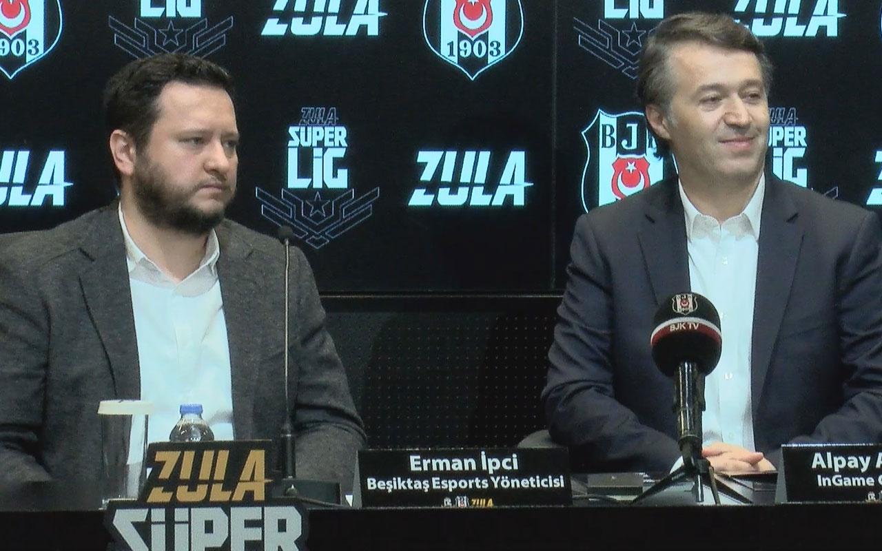 Beşiktaş ile Ingame arasında işbirliği imzası atıldı