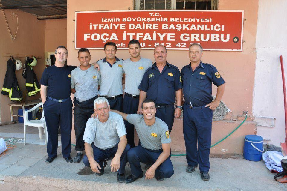 İzmir'de itfaiye eriydi şimdi  belediye başkanı oldu