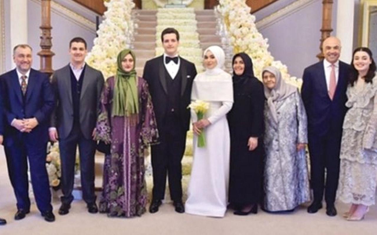 Murat Ülker'in oğlu ile Fettah Tamince'nin kızı dünya evine girdi!