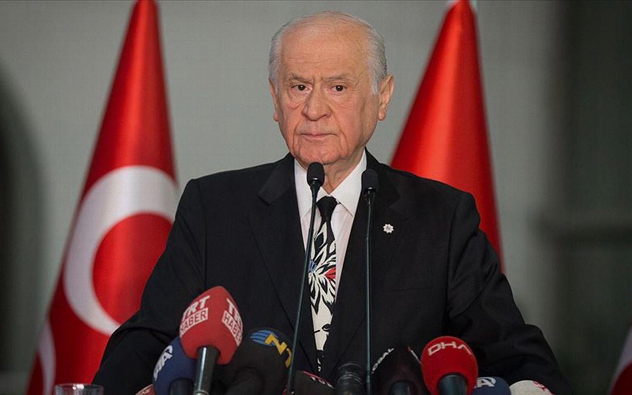 MHP Genel Başkanı Devlet Bahçeli'den koronavirüs açıklaması