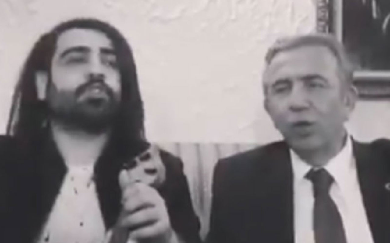 Mansur Yavaş'ın türkü performansı sosyal medyada gündem oldu