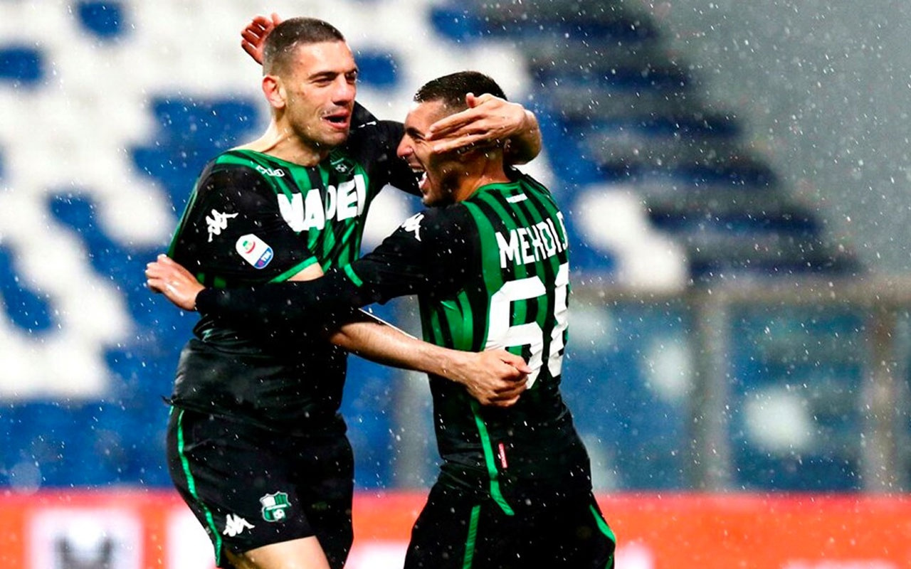 Sassuolo 4'ledi Merih Demiral 2 gol attı