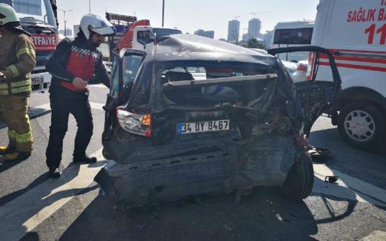 TEM'de zincirleme trafik kazası! Çok sayıda yaralı var