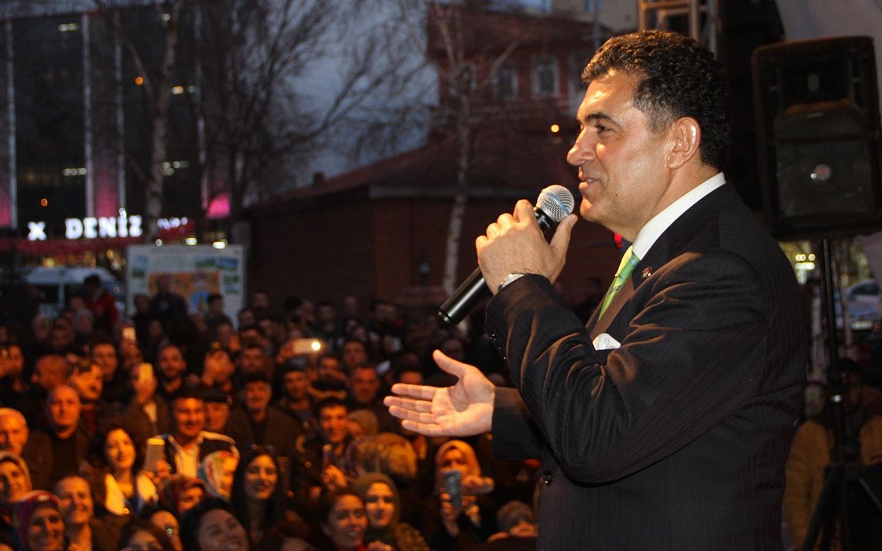 Ardahan'nın yeni belediye başkanının ilk işi konser vermek oldu