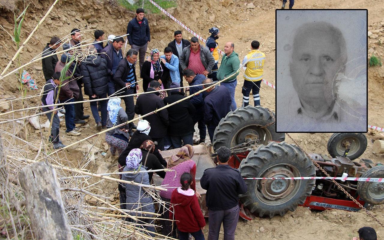 Manisa'da korkunç ölüm! Taş yüklü traktörün altında kaldı
