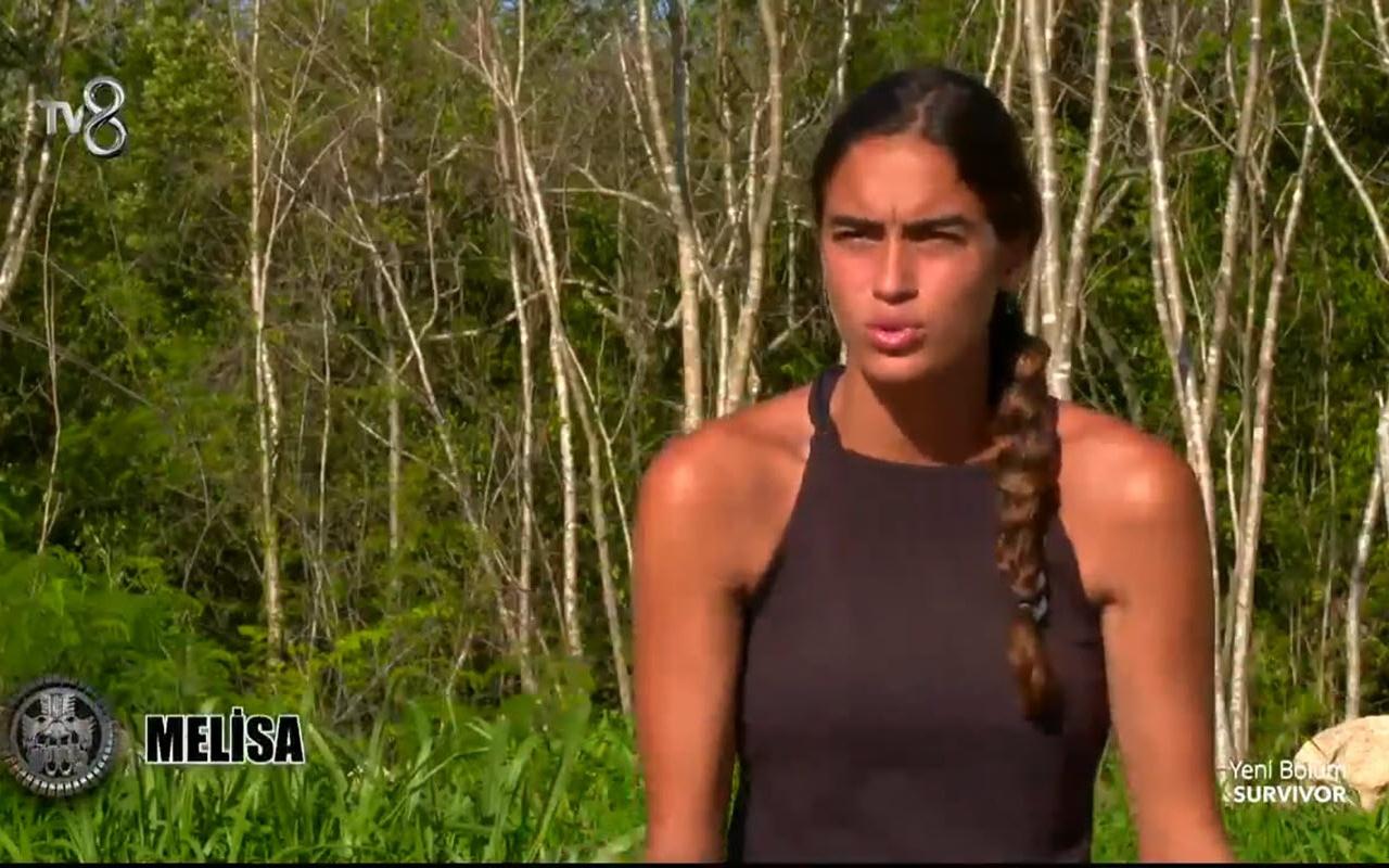 Survivor'da bomba açıklama Melisa'dan takıma eleştiri! 'Aşk yuvası gibi olduk'