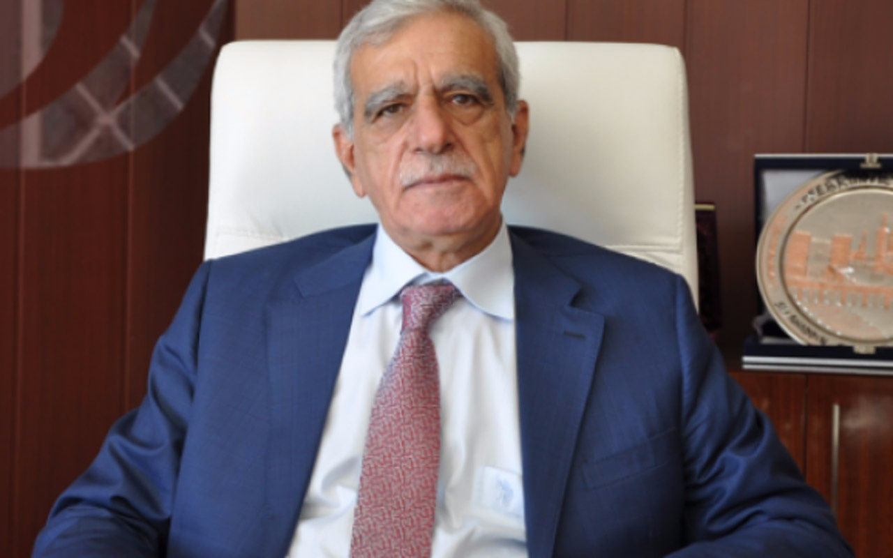 Görevden alınan HDP'li Ahmet Türk'ten hendek çıkışı! Doğru değildi