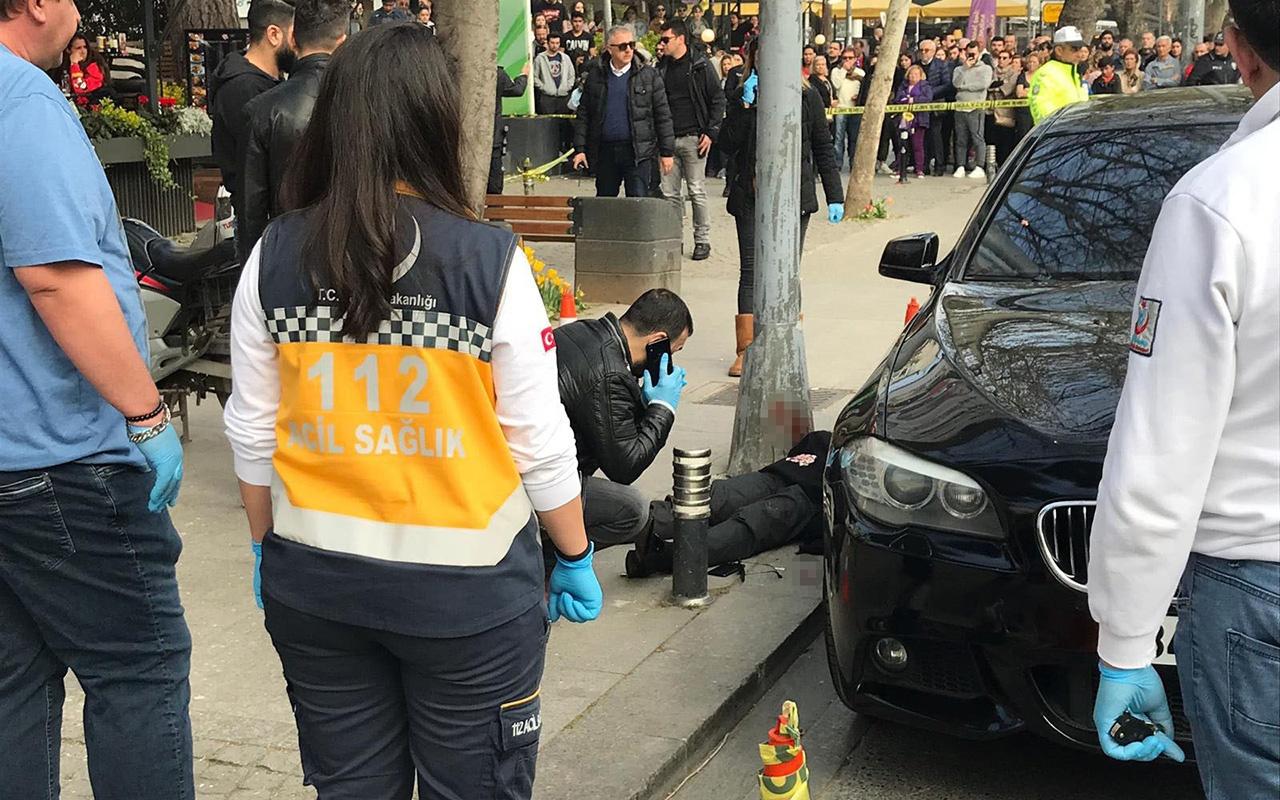 Kadıköy'de silahlı saldırı: Firari sanık öldürüldü!