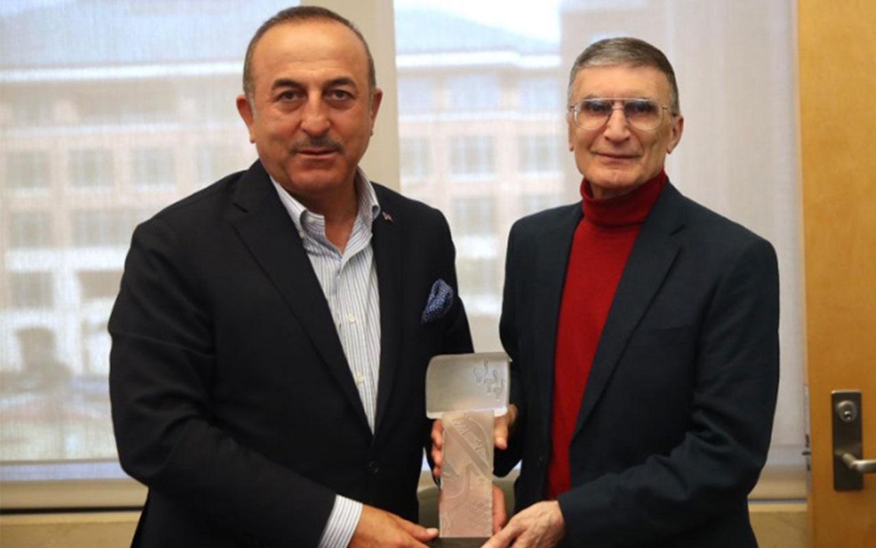 Bakan Çavuşoğlu'ndan Aziz Sancar'a ziyaret: Bu onuru bugün yaşadık