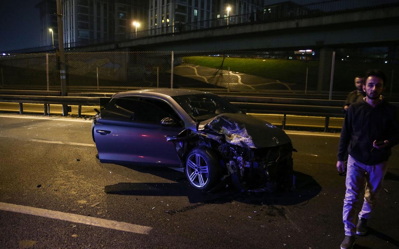 Zeytinburnu'nda zincirleme trafik kazası