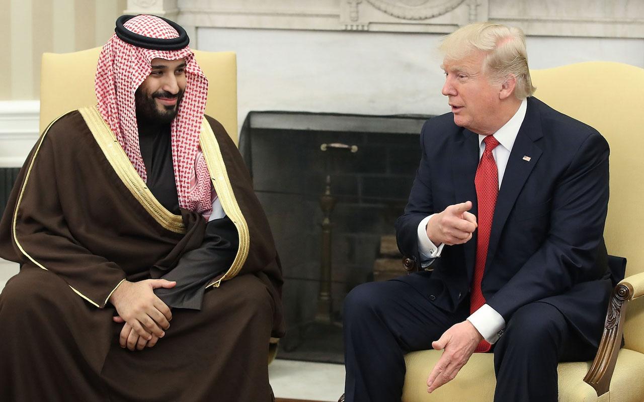 Trump ile Muhammed bin Selman petrol ve İran konusunu görüştü