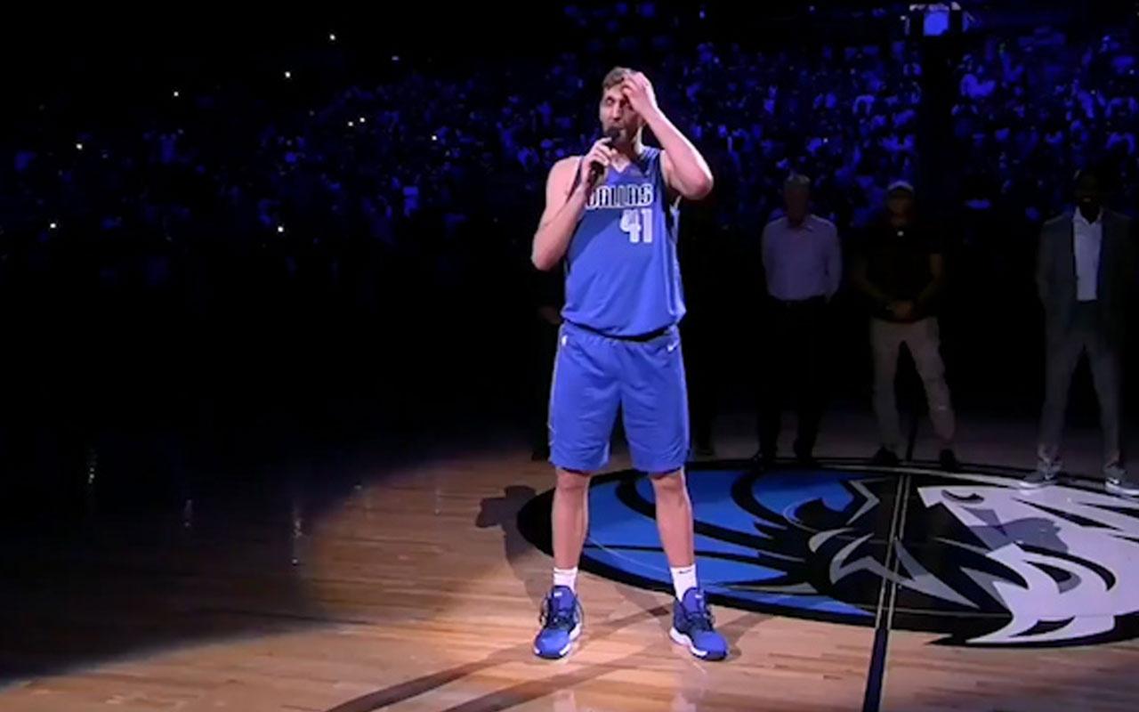 Nowitzki ve Wade'den NBA'e veda! Gözyaşları sel oldu