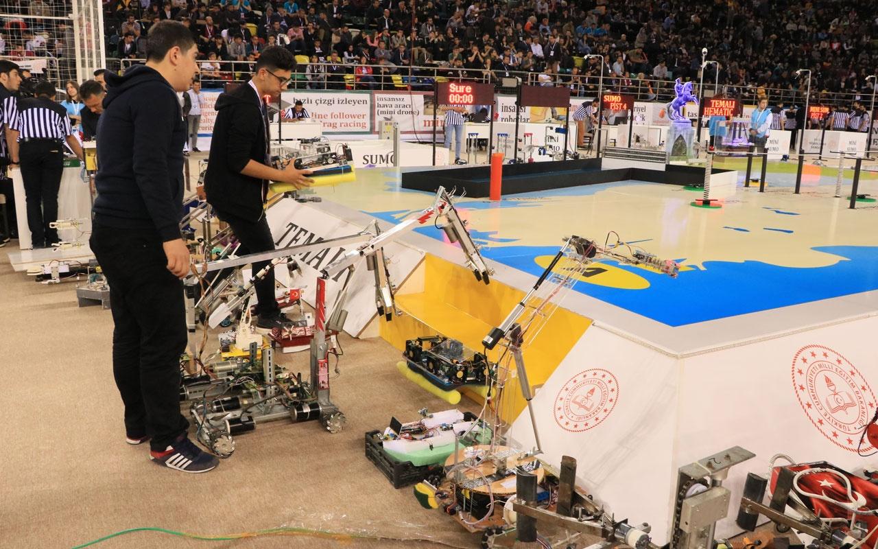 Uluslararası Robot Yarışması Samsun'da başladı
