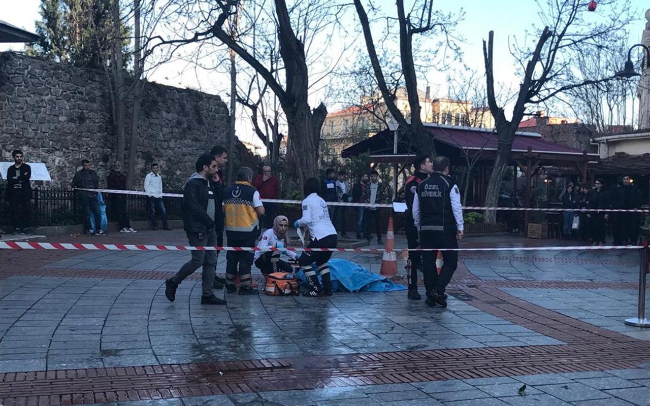 Şoke eden olay: Galata Kulesi'nden atlayan kadın öldü!