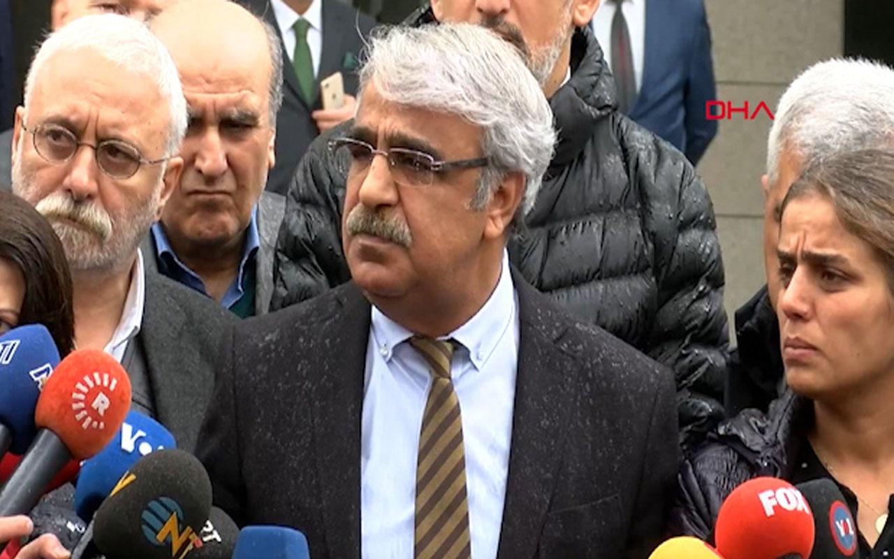 HDP Mardin Milletvekili Sancar: Olağanüstü itirazımızı yapacağız