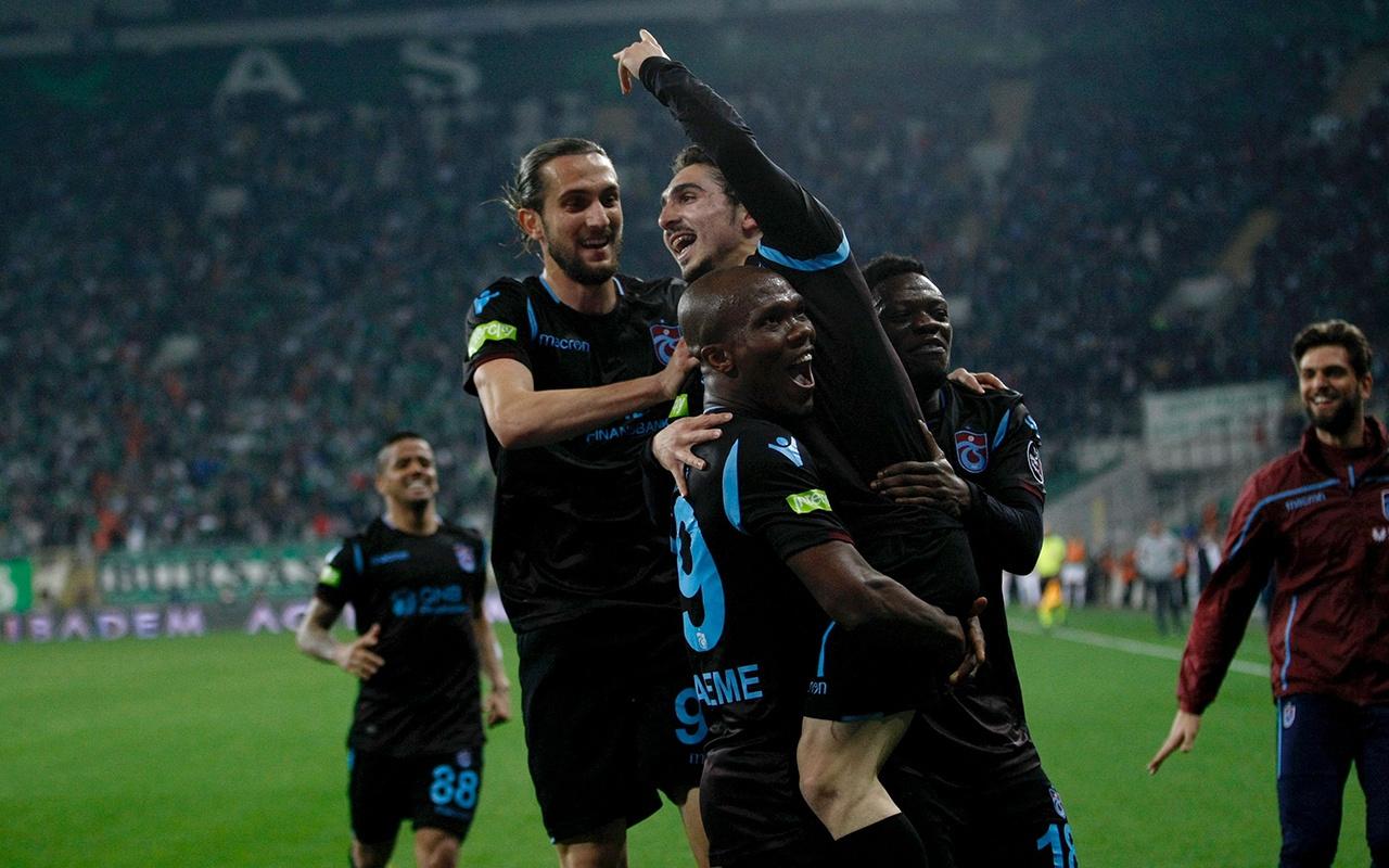 Bursaspor Trabzonspor maçı golleri ve geniş özeti