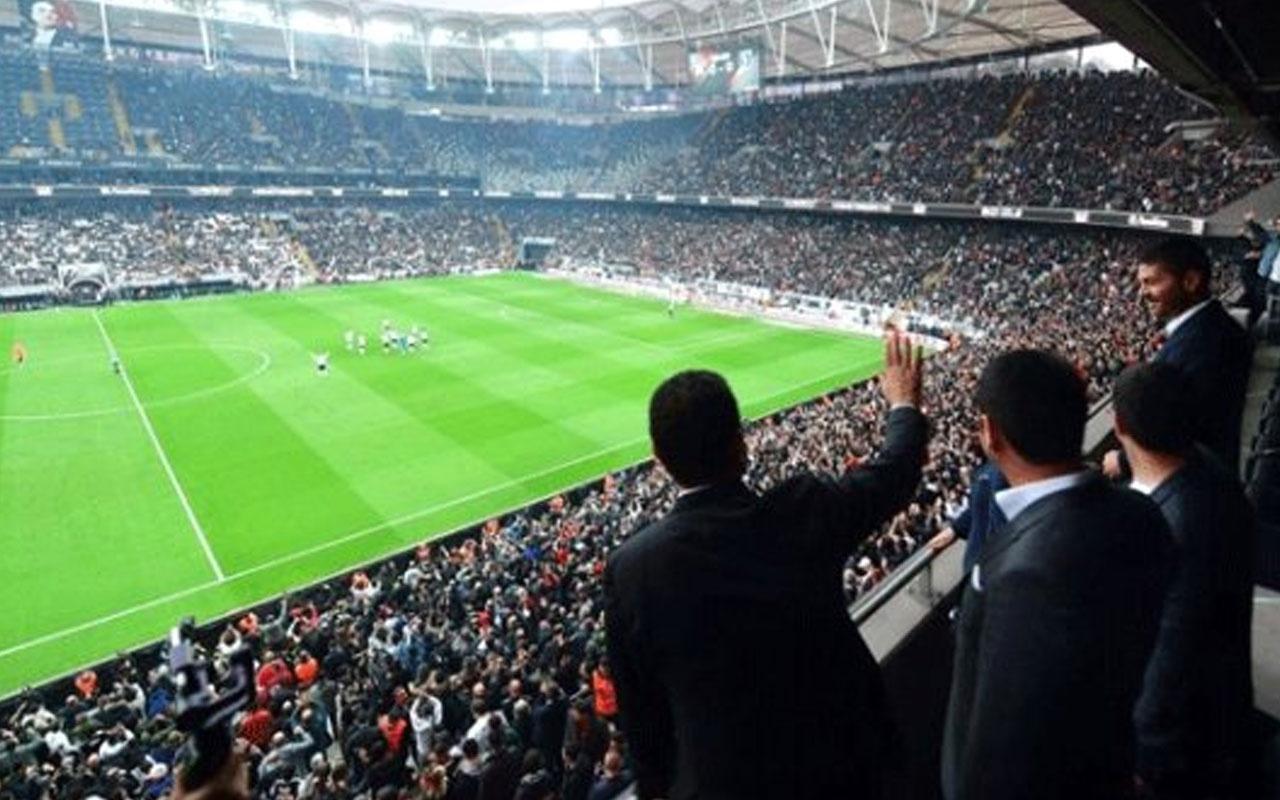 Ekrem İmamoğlu, Beşiktaş-Başakşehir maçını takip etti