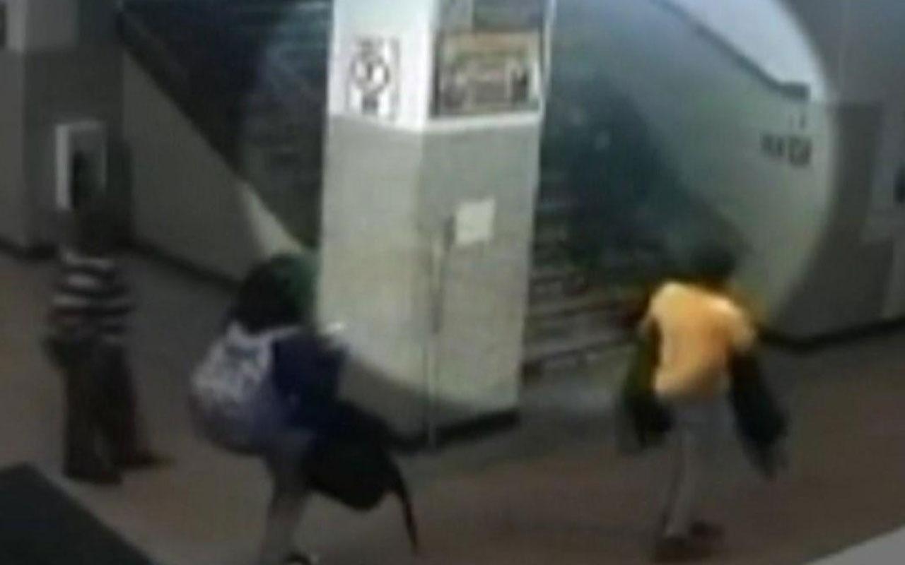 ABD polisi kız öğrenciyi dövdü o anlar böyle kaydedildi