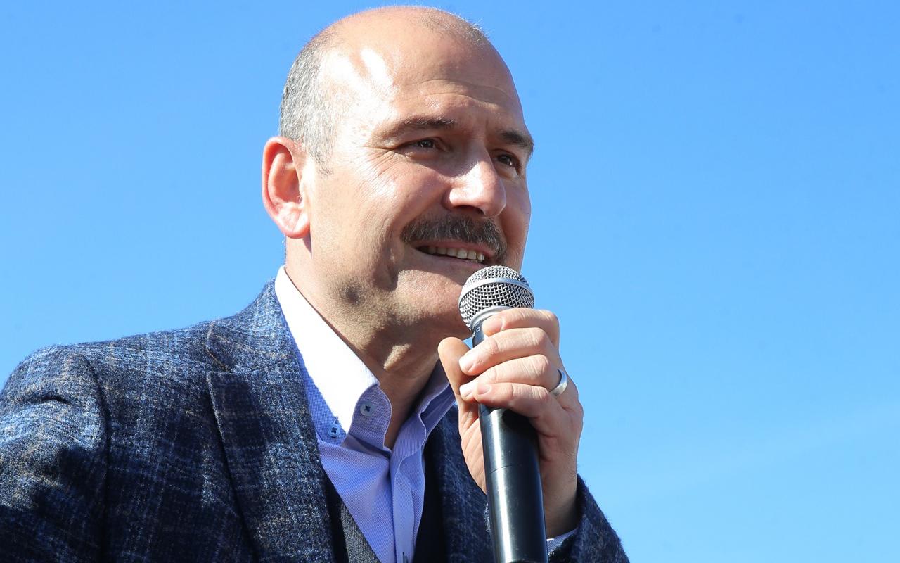 Süleyman Soylu'dan CHP'li Erkek hakkında suç duyurusu