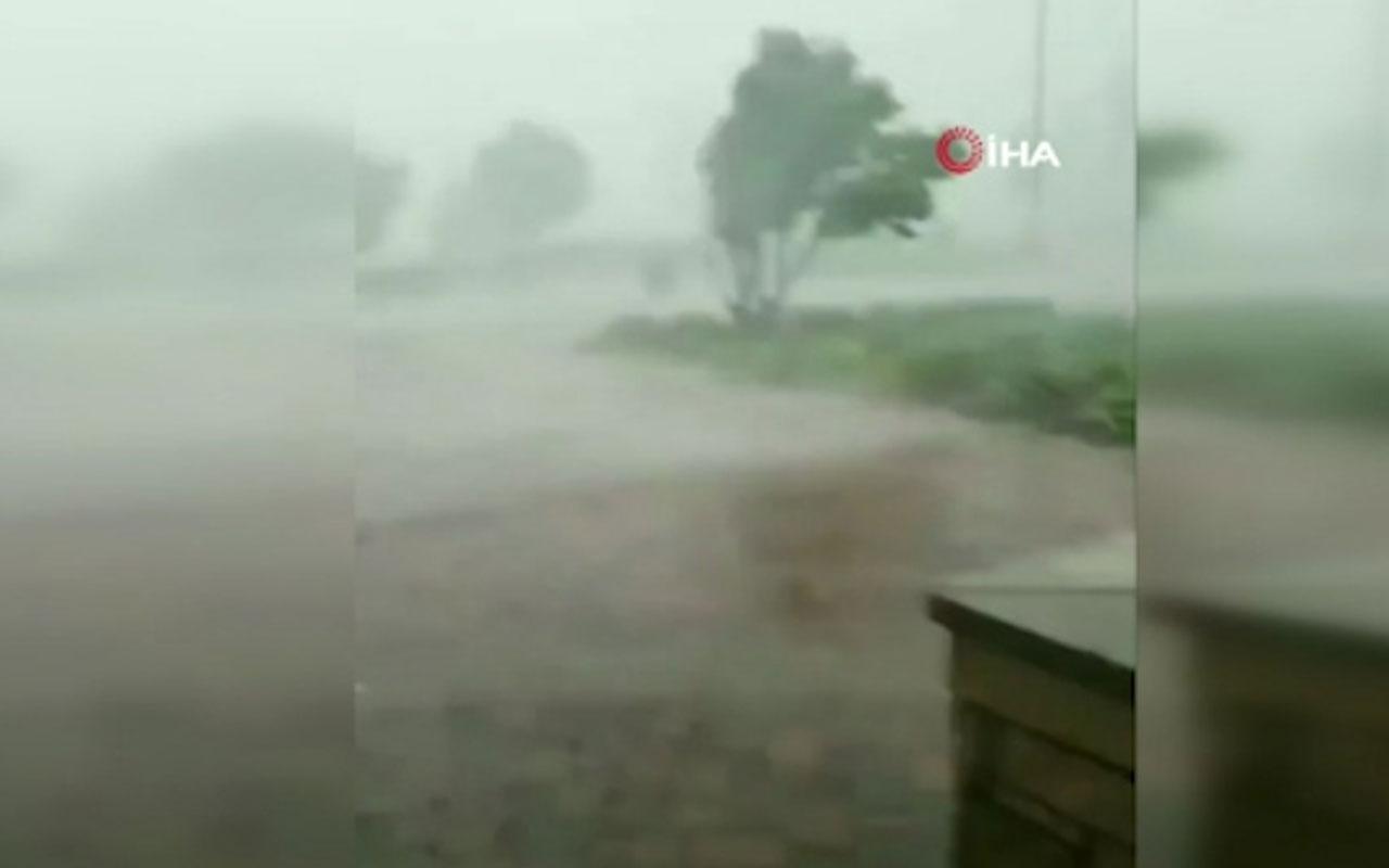 Kasırga can aldı: 2 ölü