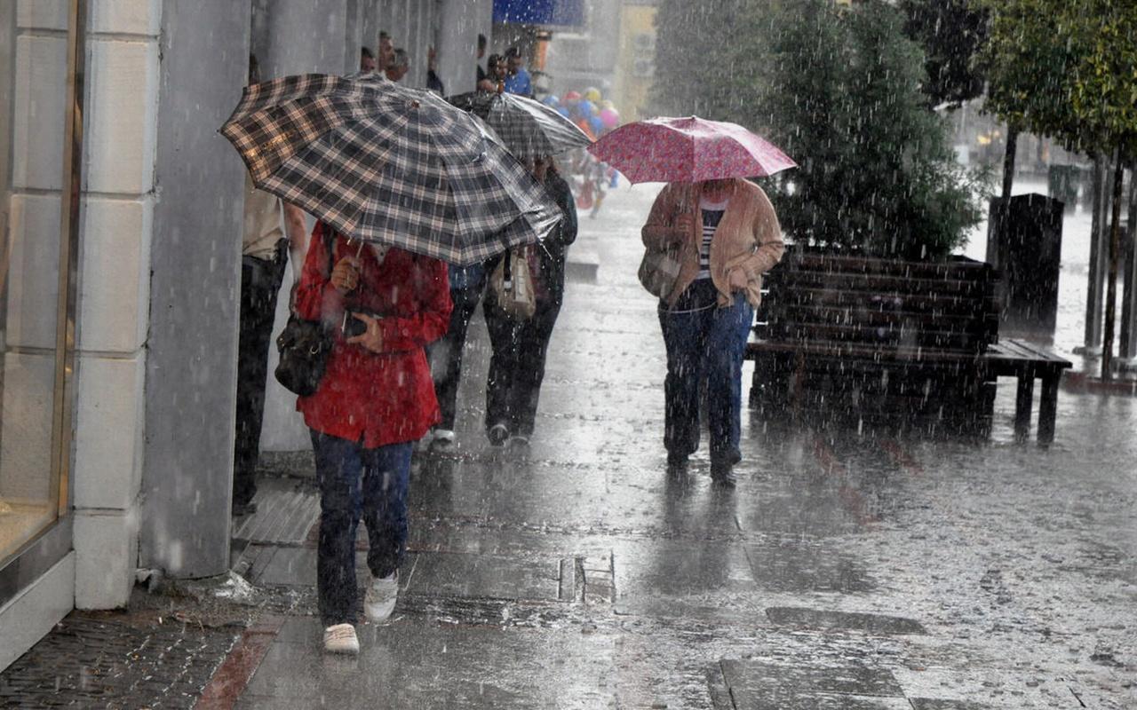 Meteorolojiden bir çok bölgeye sağanak uyarısı