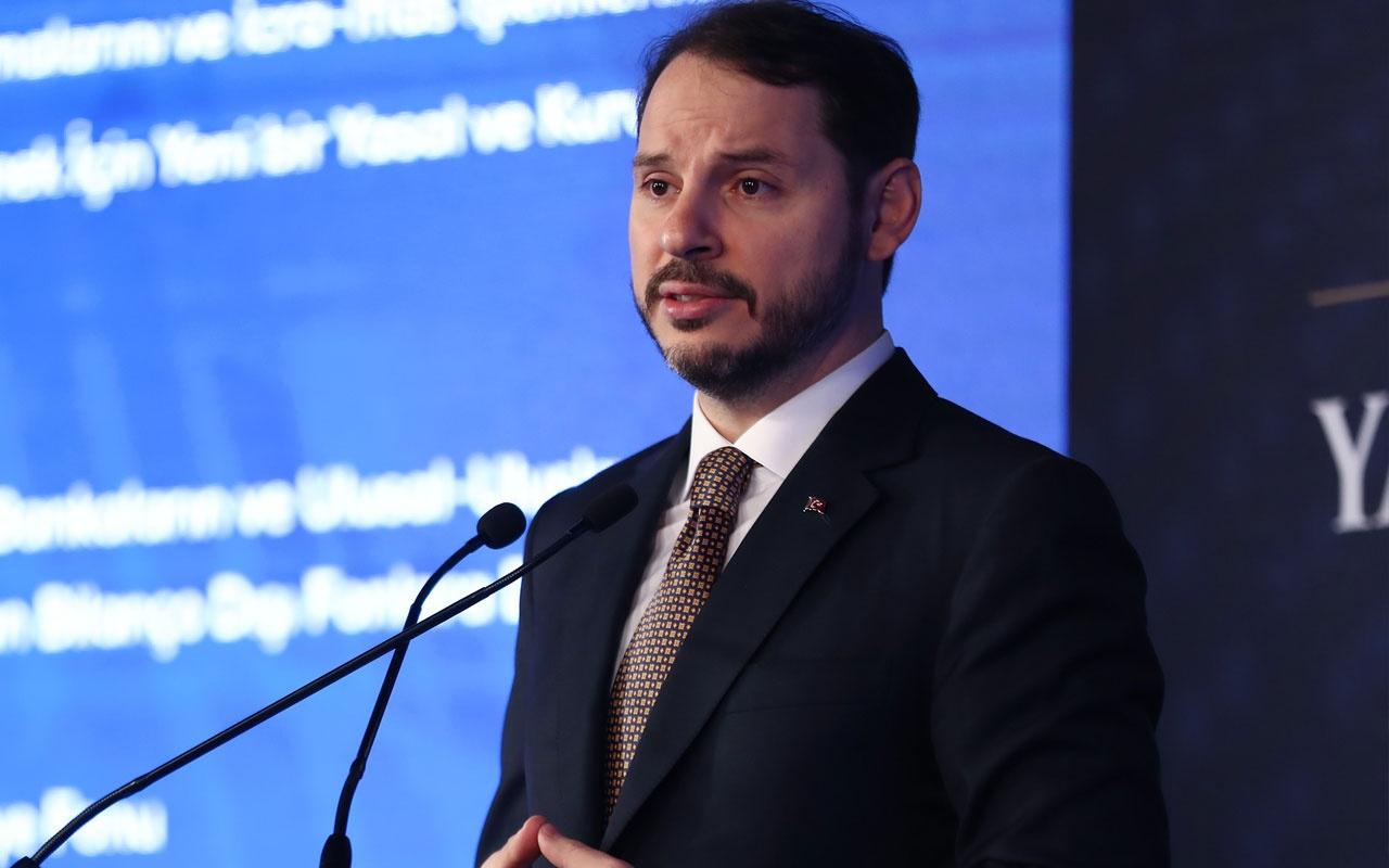 Hazine ve Maliye Bakanı Berat Albayrak'tan enflasyon açıklaması!